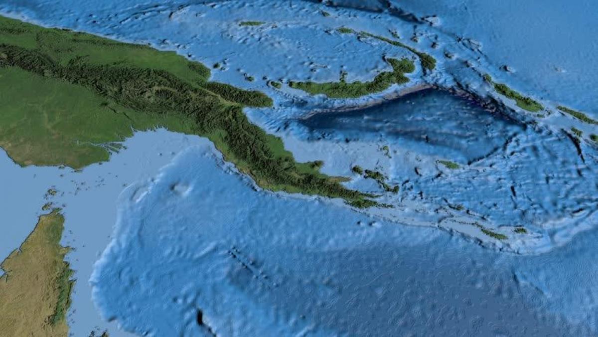 Muholdas Terkep A Papua Uj Guinea Terkep Muholdas Terkep Papua